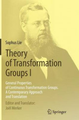 Omslag - Theory of Transformation Groups I