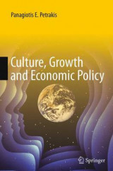 Omslag - Culture, Growth and Economic Policy