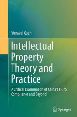 Omslag - Intellectual Property Theory and Practice