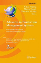 Omslag - Advances in Production Management Systems. Sustainable Production and Service Supply Chains: Part II