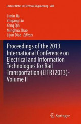 Omslag - Proceedings of the 2013 International Conference on Electrical and Information Technologies for Rail Transportation (EITRT2013): Volume II