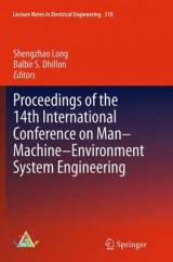 Omslag - Proceedings of the 14th International Conference on Man-Machine-Environment System Engineering