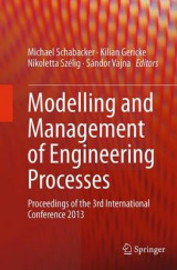 Omslag - Modelling and Management of Engineering Processes
