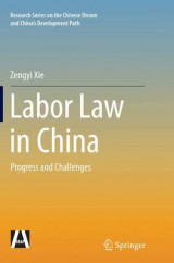 Omslag - Labor Law in China
