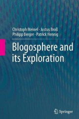 Omslag - Blogosphere and its Exploration