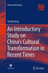 Omslag - An Introductory Study on China's Cultural Transformation in Recent Times