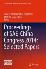 Omslag - Proceedings of SAE-China Congress 2014: Selected Papers