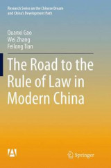 Omslag - The Road to the Rule of Law in Modern China