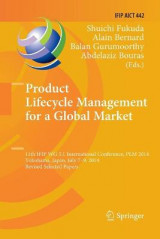 Omslag - Product Lifecycle Management for a Global Market