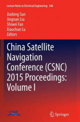 Omslag - China Satellite Navigation Conference (CSNC) 2015 Proceedings: Volume I