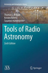 Omslag - Tools of Radio Astronomy 2014