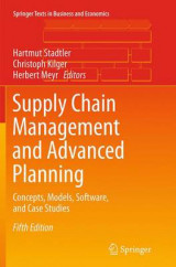 Omslag - Supply Chain Management and Advanced Planning