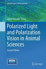 Omslag - Polarized Light and Polarization Vision in Animal Sciences