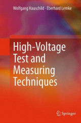 Omslag - High-Voltage Test and Measuring Techniques