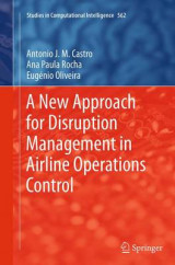 Omslag - A New Approach for Disruption Management in Airline Operations Control