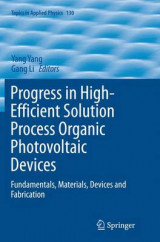 Omslag - Progress in High-Efficient Solution Process Organic Photovoltaic Devices