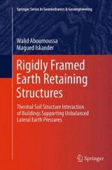 Omslag - Rigidly Framed Earth Retaining Structures