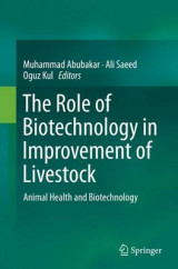 Omslag - The Role of Biotechnology in Improvement of Livestock
