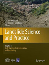 Omslag - Landslide Science and Practice: Early Warning, Instrumentation and Monitoring Volume 2