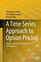 Omslag - A Time Series Approach to Option Pricing