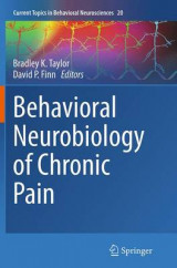 Omslag - Behavioral Neurobiology of Chronic Pain