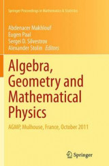 Omslag - Algebra, Geometry and Mathematical Physics