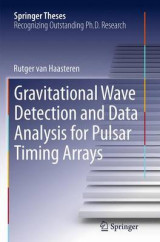 Omslag - Gravitational Wave Detection and Data Analysis for Pulsar Timing Arrays
