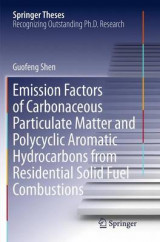 Omslag - Emission Factors of Carbonaceous Particulate Matter and Polycyclic Aromatic Hydrocarbons from Residential Solid Fuel Combustions