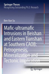 Omslag - Mafic-Ultramafic Intrusions in Beishan and Eastern Tianshan at Southern CAOB: Petrogenesis, Mineralization and Tectonic Implication