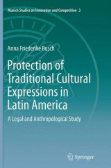 Omslag - Protection of Traditional Cultural Expressions in Latin America