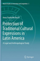 Protection of Traditional Cultural Expressions in Latin America av Anna Friederike Busch (Heftet)