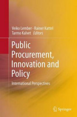 Omslag - Public Procurement, Innovation and Policy