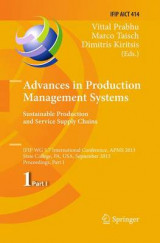 Omslag - Advances in Production Management Systems. Sustainable Production and Service Supply Chains: Part I
