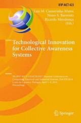 Omslag - Technological Innovation for Collective Awareness Systems