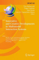 Omslag - Innovative and Creative Developments in Multimodal Interaction Systems