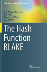 Omslag - The Hash Function Blake