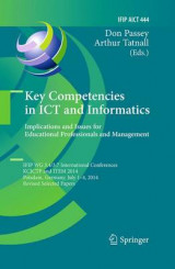 Omslag - Key Competencies in ICT and Informatics: Implications and Issues for Educational Professionals and Management