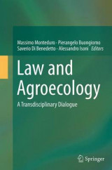 Omslag - Law and Agroecology