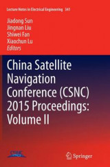 Omslag - China Satellite Navigation Conference (CSNC) 2015 Proceedings: Volume II