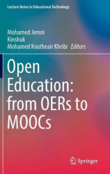 Omslag - Open Education: from OERs to MOOCs