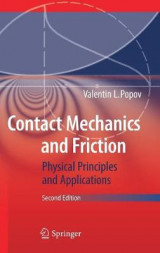 Omslag - Contact Mechanics and Friction