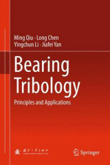 Omslag - Bearing Tribology
