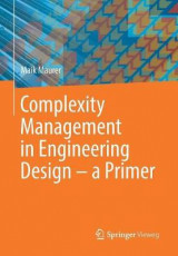 Omslag - Complexity Management in Engineering Design 2017