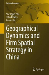 Omslag - Geographical Dynamics and Firm Spatial Strategy in China