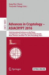 Omslag - Advances in Cryptology - ASIACRYPT 2016: Part I
