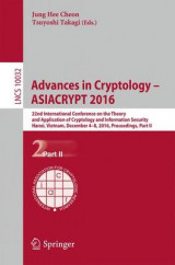 Omslag - Advances in Cryptology - ASIACRYPT 2016: Part II