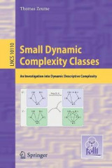 Omslag - Small Dynamic Complexity Classes