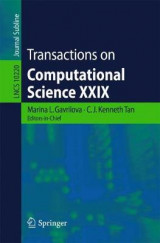 Omslag - Transactions on Computational Science XXIX