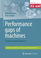 Omslag - Performance gaps of machines