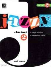 Jazzy Clarinet 2 av Paul Harvey (Bok uspesifisert)